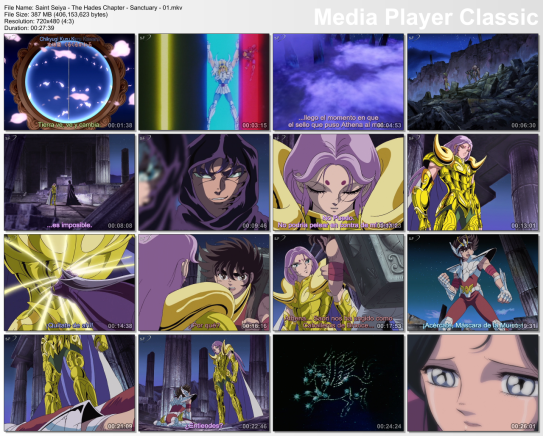 Download Saint Seiya Hades Elysion Sub Indo